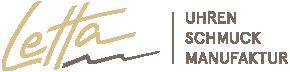 Letta – Uhren Schmuck Manufaktur Logo